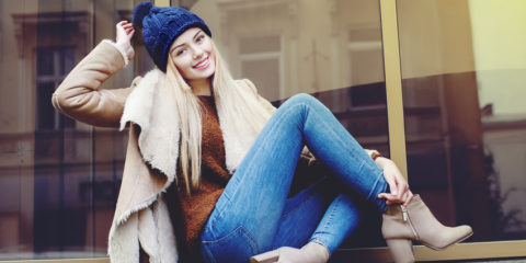 Attraktives Jeans-Outfit in kühleren Zeiten durch perfekte Kombinationen